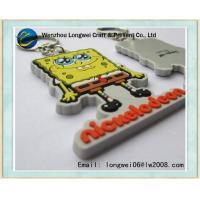 Buy cheap Custom SpongeBob Cartoon Soft PVC Keychain , Cute Rubber Key Ring product
