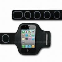 Buy cheap Sports Armband Case/Holder for iPod/iPhone 4/4S, Various Colors are Available from wholesalers