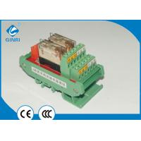 Buy cheap 12 Channel Slim PLC Relay Module Interface OMRON Relay 220VAC PLC DC Amplified Board from wholesalers