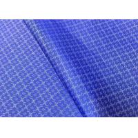 Buy cheap Custom Polyester Cationic Linen Jacquard Fabric For Jacket Suit Lining from wholesalers