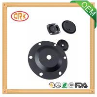 Buy cheap Black Viton Oil-Proof Rubber Diaphragm High Temperature Resistance from wholesalers