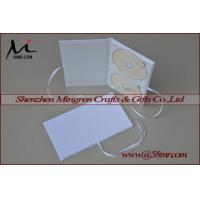 Buy cheap Double Cotton Fabric Linen DVD CD Folio from wholesalers