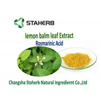 Buy cheap Lemon Balm Leaf Natural Herbal Extracts from wholesalers