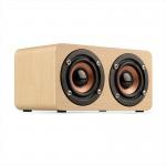 Buy cheap Wooden Wireless Bluetooth Speaker Portable HiFi Shock Bass Soundbar from wholesalers