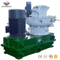Buy cheap High Capacity 1-2t/h  Biomass Sawdust Pellet Press Machine Pellet Making Mill with CE from wholesalers