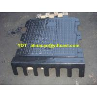 Buy cheap Black Bitumen Composite Ductile Iron manhole cover from wholesalers