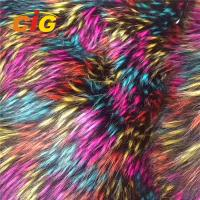 Buy cheap 100% Polyester Faux Fur Fabric Car Seat Cover Long Pile Faux Fur Fabric product