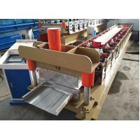 Buy cheap Metal Standing Seam Roll Forming Machine Hydraulic Cutting Type 5.5m×1.05m×1.3m from wholesalers