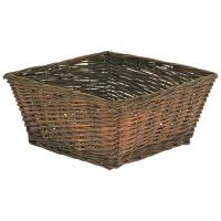 Buy cheap rectangular wicker storage basket no handles from wholesalers