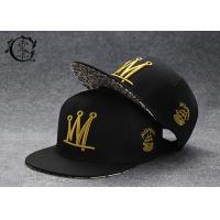 Buy cheap Rapper Caps Printed Headwear Flat Snapback Baseball Caps Adjustable Mesh Hat One Size from wholesalers