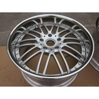 Buy cheap BFL26 3 piece forged wheels for porsche Panamera Anodized silver wheels design for vellano from wholesalers