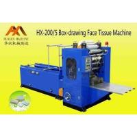 Buy cheap HX-200/5 Box-drawing Face Tissue Machine from wholesalers