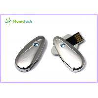 Buy cheap Metal / Crystal Twist USB Sticks , Engraved 4G 8G Gifts USB Sticks product