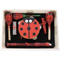 Buy cheap Cartoon Style Kids Musical Instrument Percussion Kawai Wood Toy Outfit with Wooden Box from wholesalers