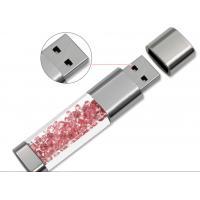 Buy cheap Customised   8GB 3D Usb 3.0 Mini Usb Flash Drive Glass Crystal  3MB To 8MB/S product
