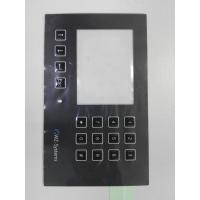 Buy cheap Custom PC PET Membrane Control Panel With Clean Window Full Key Emboss SGS from wholesalers