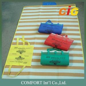 Buy cheap 100% Pp Pvc Haji Mat Beach Mat Uv Resistance Red / Blue Color 90x180cm product