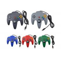 Buy cheap Assorted Colors Wired USB Game Controller Precise 3D Analog Stick For N64 Gamepad from wholesalers