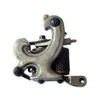 Buy cheap Permanent Damascus steel tattoo machine Gun with 10 wraps coils from wholesalers