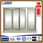 Buy cheap aluminum folding doors bi-folding door from wholesalers
