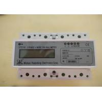 Buy cheap Three Phase Four Wires Smart Din Rail Meter with RS485 or Wifi for Monitoring the Energy from wholesalers