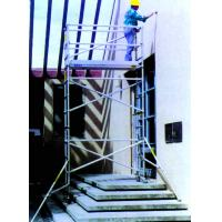 Buy cheap Walk Thru Frame Stairway Scaffolding Cold Pressed Aluminium Alloy Access Towers from wholesalers