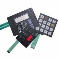 Buy cheap Embossed Tactile key membrane Keypad from wholesalers