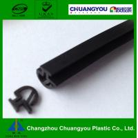 Buy cheap Gray EPDM Door Frame Rubber Sealing Strip for Curtain Wall / Window from wholesalers