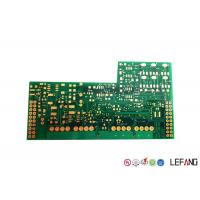 Buy cheap Industrial System High TG PCB FR - 4 Base Material / Dielectric Green Solder Mask product