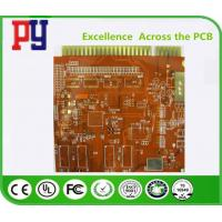 Buy cheap Multilayer Printed Circuit Board Prototype Immersion Gold Finger Fr4 Base Material from wholesalers