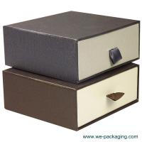 Buy cheap Custom made nice paper draw solid and strong gift packaging box product