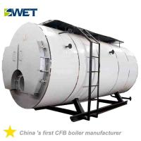 Buy cheap High automation energy conservation 4 ton fire tube Oil steam boiler  for rice mill price from wholesalers