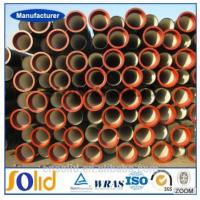 Buy cheap ISO2531/ EN545 ductile iron pipe k9/c25/c30/c40 from wholesalers