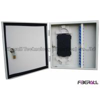 Buy cheap Outdoor Waterproof Fiber Optical Distribution Box Wall Mount Fiber Patch Panel 24 Cores from wholesalers