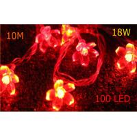 Buy cheap Super Bright 38 Bulbs Indoor Red LED Party String Lights 50000h Long Life CE ROHS SAA from wholesalers