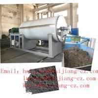 Buy cheap Suldge disposal vacuum Drying Machine oil burning heating bottom discharge from wholesalers