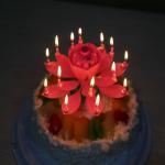 Buy cheap lotus flower music fireworks birthday candle, birthday candle, rotating lotus candle from wholesalers