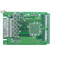 Buy cheap Green HAL Pb Free Single Sided PCB Board With 0.1mm Space For Medical Devices from wholesalers