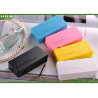 Buy cheap Perfume - L Portable Cell Phone Battery , 4400mAh / 5200mAh Power Bank Lithium Polymer from wholesalers