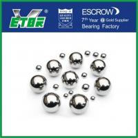 Buy cheap High Temperature Chrome Steel Balls , Precision Solid Small Metal Balls from wholesalers