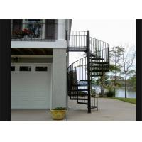 Buy cheap Outdoor wrought iron railing used spiral staircase cast iron metal staircase from wholesalers