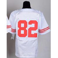 Buy cheap NFL jerseys San Francisco 49ers  82#Maninghan    white&red Elite Jerseys from wholesalers
