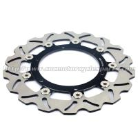 Buy cheap 300mm Motorcycle Brake Disc Brake Rotor Front Aprilia Caponord 1000 Aluminum product