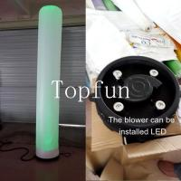 Buy cheap Green Inflatable Lighting Helium Balloons With LED Lights For Promotional Event from wholesalers