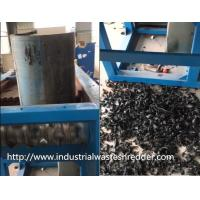 Buy cheap Industrial Waste Tire Shredder Good Toughness Energy Saving Custom Discharge from wholesalers