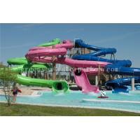 Buy cheap Professional Water Park / Aqua Park Equipment Big Water Slides For Children from wholesalers