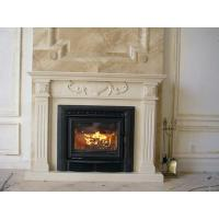 Buy cheap White Wood Burning Firebox Insert / Fireplace Inserts Wood Burning With Blower from wholesalers