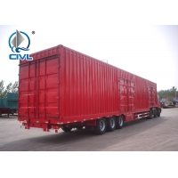 Buy cheap Enclosed Truck Trailer For Sale / Box / Van Semi Trailer/ Container Van Semi trailer 32ft-60ft from wholesalers