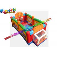 Buy cheap 0.55mm PVC Tarpaulin Ultimate Sport Inflatable Combo Game All In One Arena For Fun from wholesalers