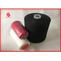 Buy cheap Eco Friendly Polyester Sewing Thread On Plastic Cone For Knitting Semi Virgin from wholesalers